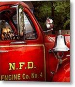 Fireman - This Is My Truck Metal Print