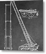 Fireman's Hydraulic Lift Metal Print