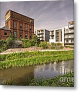 Firepool Water Tower  Metal Print