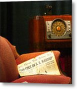 Fireside Chats With Fdr 01 Metal Print