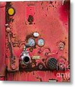 Firetruck Red Metal Print