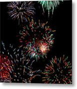 Colorful Explosions No2 Metal Print