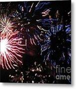 Firework - Saint Denis - Ile De La Reunion - Reunin Island - Indian Ocean Metal Print by Francoise Leandre