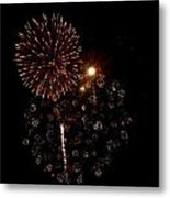 Fireworks 12 Metal Print by Mark Malitz