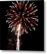Fireworks 14 Metal Print by Mark Malitz
