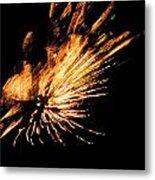 Fireworks 2 Metal Print by Stephanie Kendall