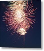 Fireworks 2 Metal Print