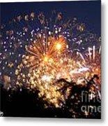 Fireworks 2014  7 Metal Print