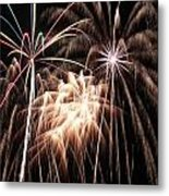 Fireworks 3 Metal Print by Andrew Nourse
