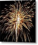 Fireworks 3 Metal Print by Mark Malitz