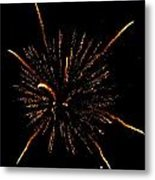 Fireworks 4 Metal Print by Mark Malitz