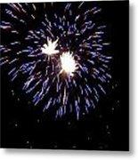 Fireworks 7 Metal Print by Mark Malitz