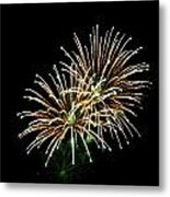 Fireworks 8 Metal Print by Mark Malitz