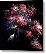 Fireworks 9 Metal Print by Sandy Swanson