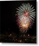 Fireworks Albenga 2013 3808 - Ph Enrico Pelos Metal Print