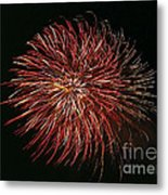 Fireworks At Night 5 Metal Print