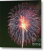 Fireworks At Night 9 Metal Print