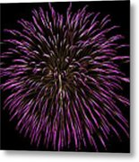 Fireworks Bursts Colors And Shapes 5 Metal Print