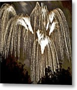 Fireworks Bursts Colors And Shapes 6 Metal Print