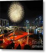Fireworks By The Bay Metal Print