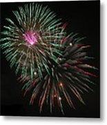 Fireworks Exploding Metal Print