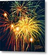 Fireworks Finale Metal Print by Doug Kreuger