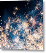 Fireworks In The Sky Metal Print by Gianfranco Weiss