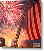 Fireworks Metal Print by Jim DeLillo