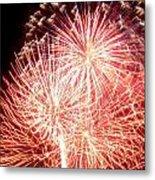 Fireworks Metal Print by Joseph Norniella