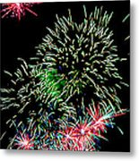 Fireworks Over The Bay Metal Print