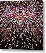 Fireworks Phoenix Metal Print