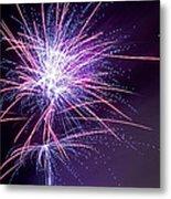 Fireworks - Purple Haze Metal Print