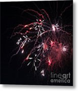 Fireworks Series Xi Metal Print by Suzanne Gaff