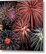 Fireworks Spectacular IIi Metal Print by Ricky Barnard