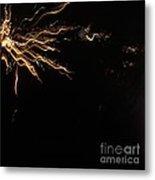 Splash Of Light. Square. Metal Print