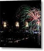 Fireworks Metal Print by Stanlerd Rodriguez