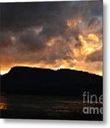 Firey Sky Metal Print