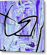 Firmament Cracked #2 - Paper Sky Metal Print