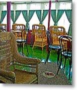 First Class Lounge In S S Klondike On Yukon River In Whitehorse-yt Metal Print