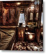 First Class Sleeper Metal Print