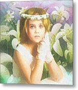 First Communion Metal Print