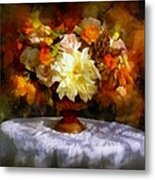 First Day Of Autumn - Still Life Metal Print