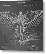 First Flying Machine Metal Print