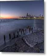 First Hint Of Sunlight Metal Print