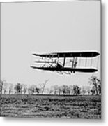 First In Flight Metal Print