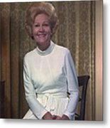 First Lady Patrician Nixon In An Metal Print by Everett