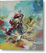First Nations 20 Metal Print