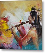 First Nations 22 Metal Print