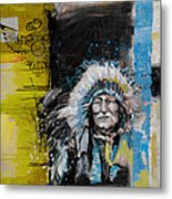 First Nations 33 Metal Print