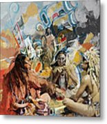 First Nations 42 Metal Print